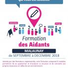 Formation des aidants à Malaunay de Septembre à Décembre 2018